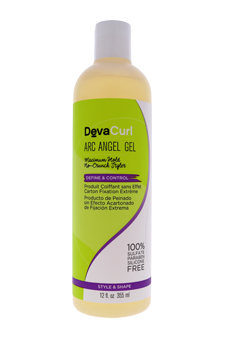 DevaCare Arc AnGel Firm Hold Defining Gel by Deva Concepts for Unisex - 12 oz Gel