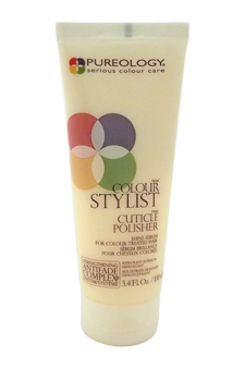 Colour Stylist Cuticle Polisher Shine Serum by Pureology for Unisex - 3.4 oz Serum