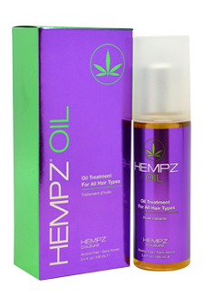 Hempz Oil Treatment for Unisex - 3.4 oz Treatment