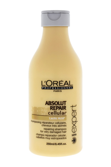 Serie Expert Absolut Repair Cellular Shampoo by L'Oreal Professional for Unisex - 8.45 oz Shampoo