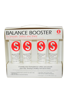 S-Factor Balance Boosters by TIGI for Unisex - 4 Pc Kit 4 x