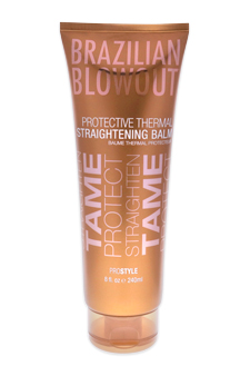 Acai Protective Thermal Straightening Balm by Brazilian Blowout for Unisex - 8 oz Balm