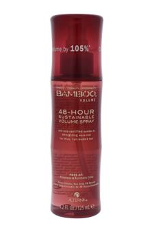 Bamboo 48-Hour Sustainable Volume Spray by Alterna for Unisex - 4.2 oz Hair Spray