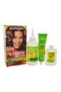 Garnier Nutrisse Nourishing Permanent Haircolor, R2 Medium Intense Auburn by Garnier for Unisex - 1 Pack Hair color