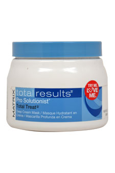 Total Results Pro Solutionist Total Treat Deep Cream Mask for Unisex Masque