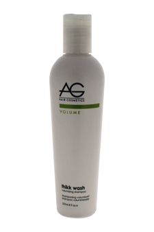 Thikk Wash Volumizing Shampoo by AG Hair Cosmetics for Unisex - 8 oz Shampoo
