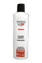 System 4 Cleanser For Fine Hair Noticeably Thinning Chemically Treated by Nioxin for Unisex - 10.1 oz Shampoo