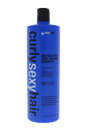 Curly Sexy Hair Color Safe Curl Defining Shampoo by Sexy Hair for Unisex - 33.8 oz Shampoo