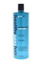 Healthy Sexy Hair Sulfate-Free Soy Moisturizing Conditioner by Sexy Hair for Unisex - 33.8 oz Conditioner