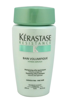 Resistance Bain Volumifique Thickening Shampoo by Kerastase for Unisex - 8.5 oz Shampoo