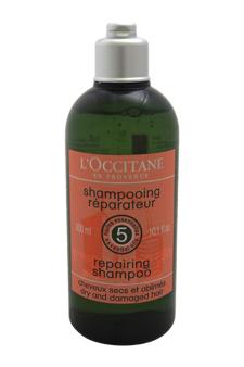 Repairing Hair Shampoo - Dry & Damaged Hair by L'occitane for Unisex - 10.1 oz Shampoo
