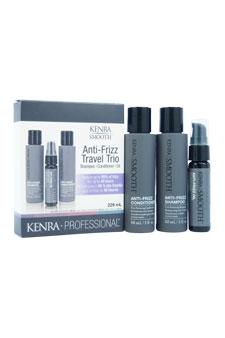 Kenra Smooth Anti-Frizz Travel Trio Kit by Kenra for Unisex - 3 Pc Kit 3oz Anti-Frizz Shampoo, 3oz Anti-Frizz Conditioner, 1oz An -2PK at Sears.com