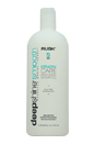 Deepshine Smooth Keratin Care Smoothing Shampoo by Rusk for Unisex - 33.8 oz Shampoo