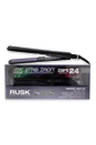 Heat Freak Professional Str8 Iron Ceramic and Tourmaline-Model#IREHF9557C- Black by Rusk for Unisex - 1 Inch Flat Iron