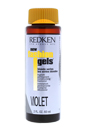 Fashion Gels Blonde Series Highlift Permanent Conditioning Haircolor - Violet by Redken for Unisex - 2 oz Hair Color