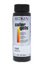 Color Gels Permanent Conditioning Haircolor 1NW - Midnight by Redken for Unisex - 2 oz Hair Color