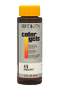 Color Gels Permanent Conditioning Haircolor 4N - Hazelnut by Redken for Unisex - 2 oz Hair Color
