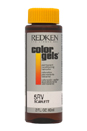 Color Gels Permanent Conditioning Haircolor 5RV - Scarlett by Redken for Unisex - 2 oz Hair Color
