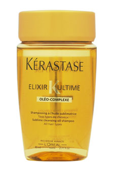Elixir K Ultime Sublime Cleansing Oil Shampoo by Kerastase for Unisex - 2.71 oz Shampoo