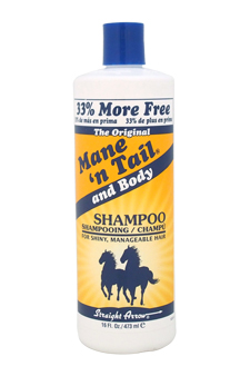 The Original Mane N Tail and Body Shampoo by Straight Arrow for Unisex - 16 oz Shampoo
