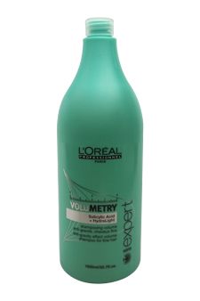 Serie Expert Volumetry Anti-Gravity Effect Volume Shampoo by L'Oreal Professional for Unisex - 50.7 oz Shampoo