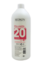 Pro-Oxide Cream Developer - 20 Volume 6% by Redken for Unisex - 33.8 oz Cream Developer