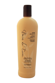 Sweet Almond Oil Long & Healthy Conditioner by Bain de Terre for Unisex - 13.5 oz Conditioner