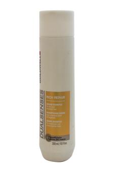 Dualsenses Rich Repair Cream Shampoo by Goldwell for Unisex - 10.1 oz Shampoo