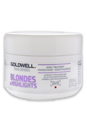 Dualsenses Blondes & Highlights 60 Sec Treatment by Goldwell for Unisex - 6.7 oz Treatment