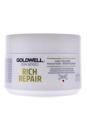 Dualsenses Rich Repair 60 Sec Treatment by Goldwell for Unisex - 6.7 oz Treatment