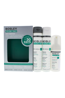 Professional Strength Bos Defense by Bosley for Unisex - 3 P