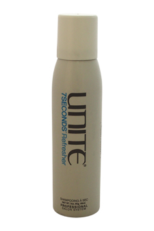 7Seconds Refresher Dry Shampoo by Unite for Unisex - 3 oz Shampoo