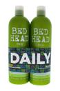 Bed Head Urban Antidotes Re-energize Kit by TIGI for Unisex - 2 Pc Kit 25.36 oz Shampoo, 25.36 oz Conditioner