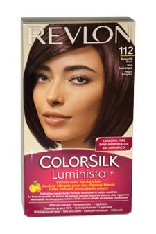 colorsilk Luminista #112 Burgundy Black by Revlon for Women - 1 Application Hair Color
