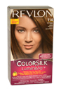 colorsilk Luminista #114 Dark Golden Brown  by Revlon for Women - 1 Application Hair Color