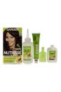 Nutrisse Nourishing Color Creme # 415 Soft Mahogany Dark Brown by Garnier for Women - 1 Application Hair Color