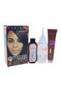 Textures & Tones Permanent Moisture-Rich Haircolor - # 1B Silken Black by Clairol for Women - 1 Application Hair Color