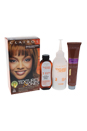 Textures & Tones Permanent Moisture-Rich Haircolor - # 5G Light Golden Brown by Clairol for Women - 1 Application Hair Color