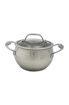 David Burke Gourmet Pro Splendor 2qt Sauce Pot With Lid Stainless Steel