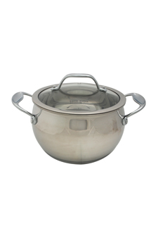 David Burke Gourmet Pro Splendor 3qt Sauce Pot With Lid Stainless Steel