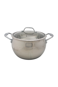 David Burke Gourmet Pro Splendor 7qt Dutch Oven With Lid Stainless Steel