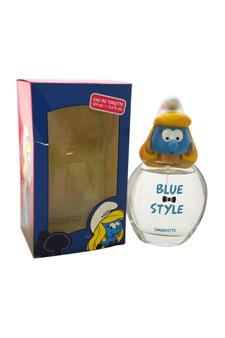 The Smurfs Blue Style Smurfette by First American Brands for Kids - 3.4 oz EDT Spray