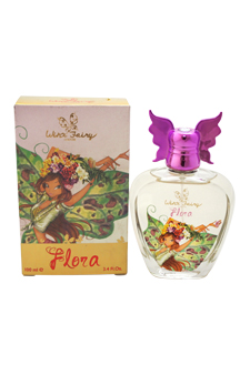 Flora Chic Essence by Winx Fairy Couture for Kids - 3.4 oz EDT Spray