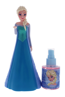 Frozen 3D Figure Elsa by Disney for Kids - 3.4 oz EDT Spray