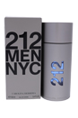 212 by Carolina Herrera for Men - 3.4 oz EDT Spray