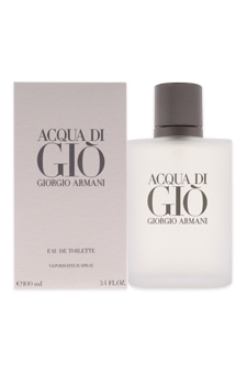 Acqua Di Gio by Giorgio Armani for Men - 3.4 oz EDT Spray