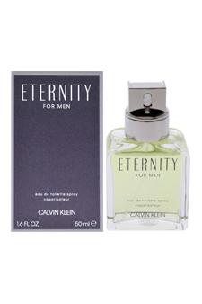Calvin Klein Eternity  men 1.7oz EDT Spray