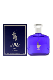 Polo Blue by Ralph Lauren for Men - 2.5 oz EDT Spray