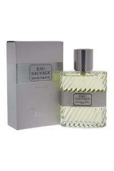 Christian Dior Eau Sauvage  men 1.7oz EDT Spray