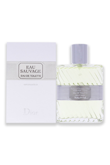 Christian Dior Eau Sauvage  men 3.3oz EDT Spray